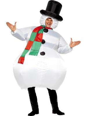Piepūšams sniegavīra kostīms