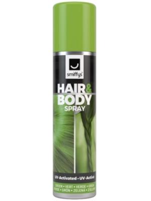 UV matu un ķermeņa sprejs, zaļš, 75 ml