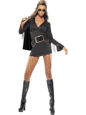 Elvisa Preslija stila sieviešu kostīms