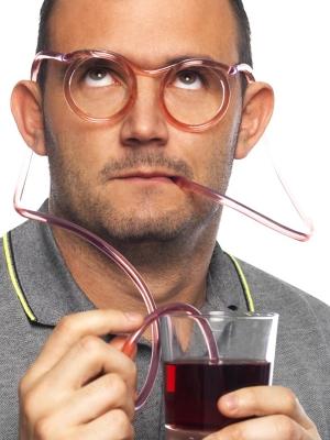 Brilles, dzeršanas salmiņš