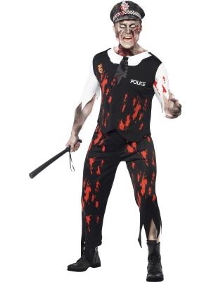 Zombiju policista kostīms