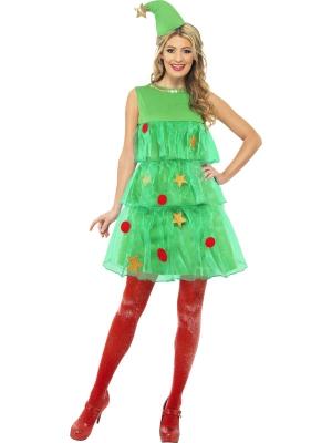 Ziemassvētku eglītes tutu stila kostīms