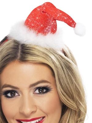 Mini Ziemassvētku stila cepure