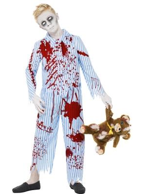 Zombijzēns pidžamā kostīms