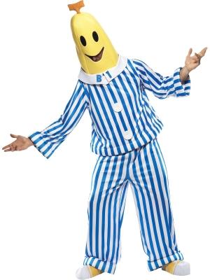 "Banāna kostīms no seriāla ""Bananas in Pyjamas"""
