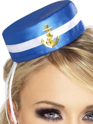 Jūrnieces mini cepurīte