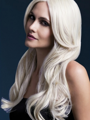Parūka Hloja, blonda, 66 cm