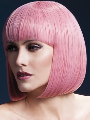 Parūka Elisa, rozā, 33 cm