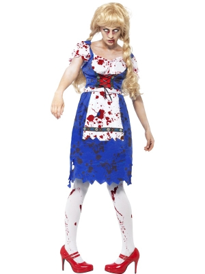 Zombiju meitenes kostīms