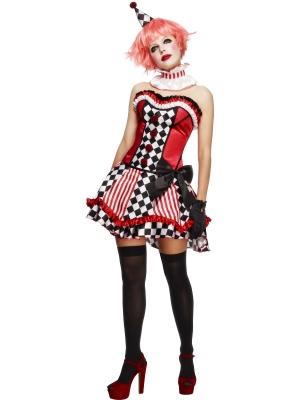 Fever klauna meitenes kostīms