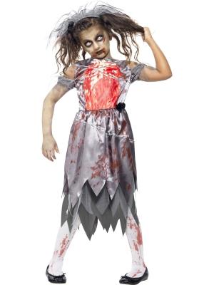 Zombija līgavas kostīms