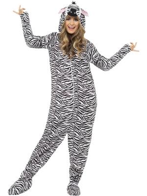 Zebras kostīms (sieviešu / vīriešu)