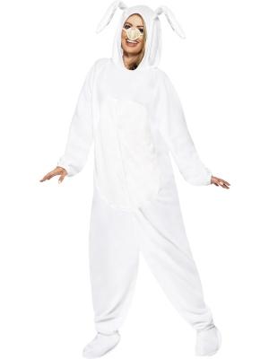 Baltā zaķa kostīms (sieviešu / vīriešu)