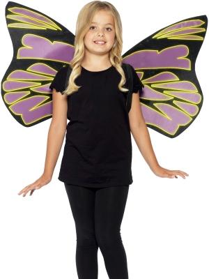 Tumsā spīdoši spārni