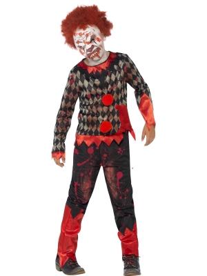 Zombija klauna kostīms