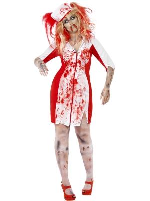 Zombiju medmāsiņas kostīms