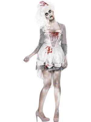 Zombiju princeses kostīms