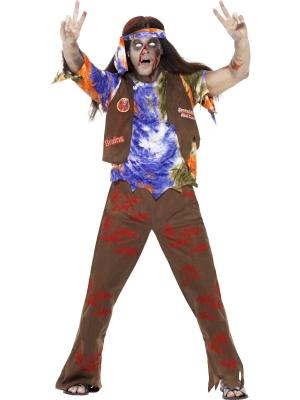 Zombija hipija kostīms