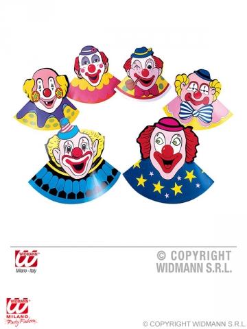 6 gab, Papīra cepures, klauni
