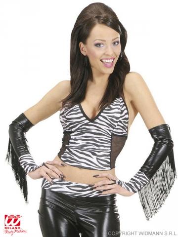 Zebras cimdi, bez pirkstiem