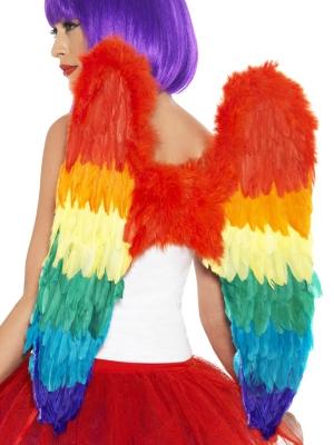 Spārni, krāsaini, 50cm x 60cm