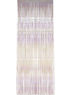Lietutiņa aizskars, varavīksnes krāsās, 91  x 244 cm