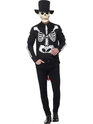 Mirušo dienas skeleta kostīms