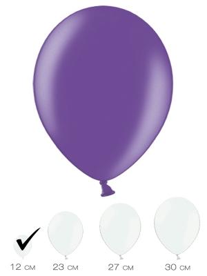 100 gab, Violets, metālisks spīdums, 12 cm