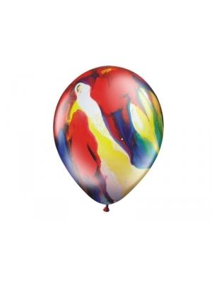100 gab, Krāsaini baloni, pastelis, 23 cm
