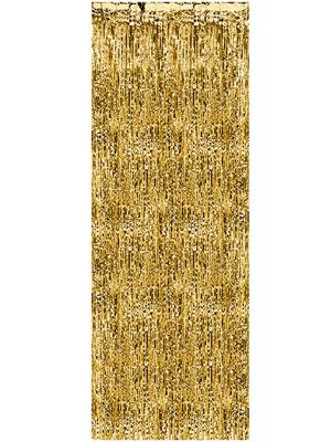 Lietutiņa aizskars, zelta, 90  x 250 cm