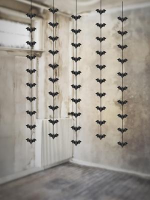 5 gab, Piekarināma sikspārņu dekorācija, 1 m