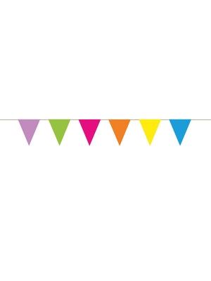Papīra virtene - 6 karodziņi, 18 cm x 1.15 m