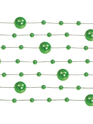 5 gab, Pērļu virtene, zaļa, 1.3 m