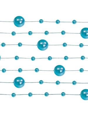 5 gab, Pērļu virtene, zilgan pelēka, 1.3 m