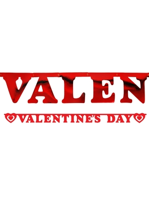 Baneris, Valentines day, 15 x 200 cm
