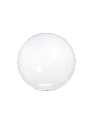 4 gab, Stikla bumba, bezkrāsaina, 6 cm