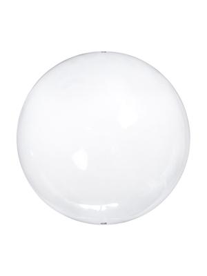 4 gab, Stikla bumba, bezkrāsaina, 8 cm
