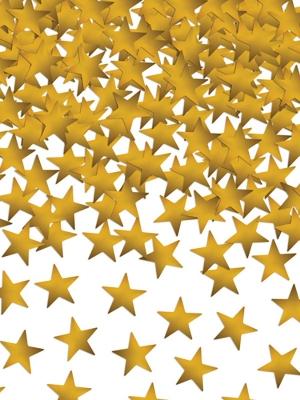 Konfeti zvaigznītes, 10 mm, 30 gr