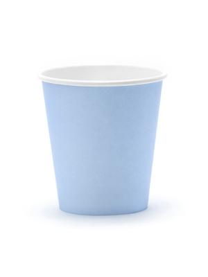 6 gab, Glāzes rudzupuķu zilas, 200 ml