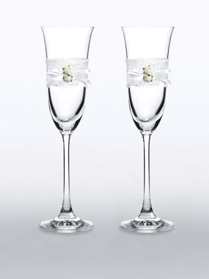 2 gb, Šampānieša glāzes
