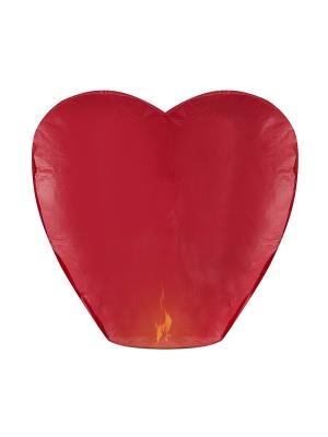 Gaisa laterna sirds, sarkana, 37 x 93 x 95 cm