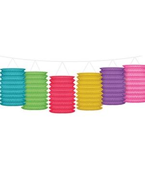 Virtene ar krāsainām laternām, 3.60 m
