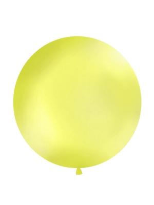 1 metra balons, zaļš ābols, metālisks