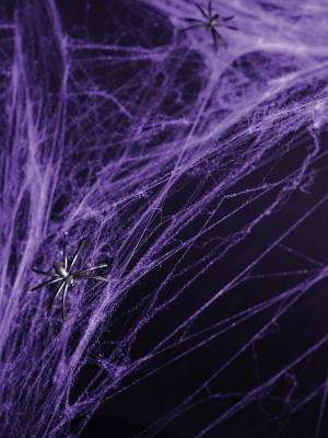 Zirnekļu tīkls, violets, 60 gr