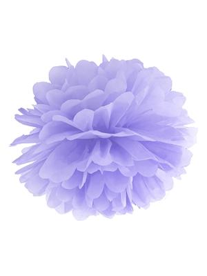 Zīdpapīra bumba, ceriņu, 25 cm