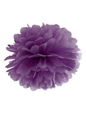 Zīdpapīra bumba, violeta, 25 cm