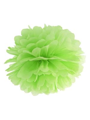 Zīdpapīra bumba, zaļš ābols, 25 cm