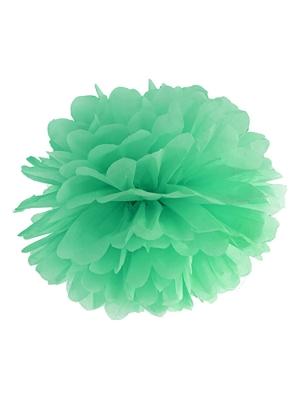 Zīdpapīra bumba, piparmētra, 25 cm