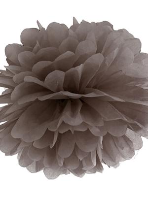 Zīdpapīra bumba, brūna, 35 cm