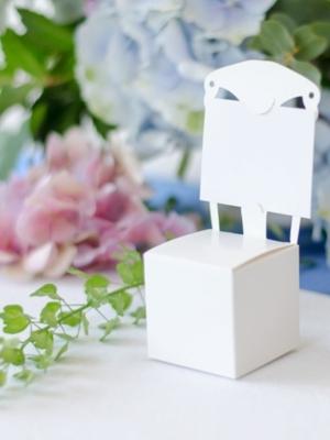 10 gab, Kastītes Krēsls, baltas, 5 x 5 x 5 cm